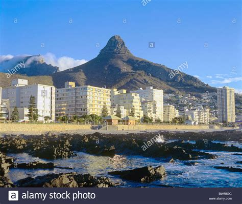 table mountain cape town south africa south africa cape town beach road sea point lion head