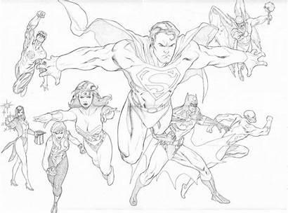Justice League Coloring Superman Ausmalbilder Mewarnai Colorare