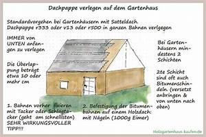 Dachpappe Verlegen Auf Holz : dachpappe gartenhaus verlegen ratgeber 1 holzgartenhaus ~ Frokenaadalensverden.com Haus und Dekorationen