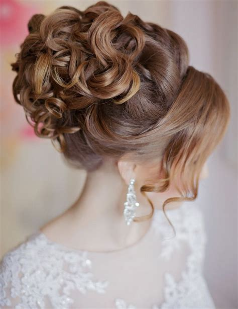 Drop Dead Gorgeous Curly Wedding Updos Hair styles Long
