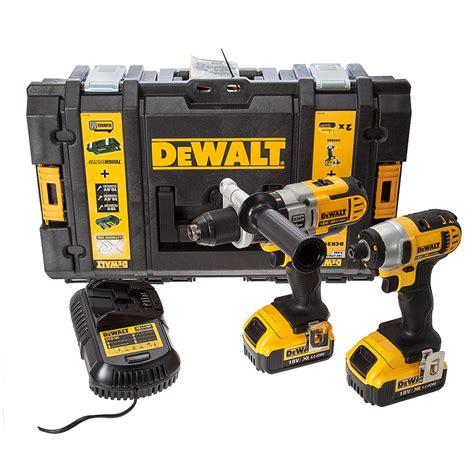 dewalt dck290m2 18v xr li ion combi drill og impact driver twinpack 2x4ah batt prohandel as
