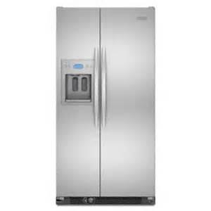 kitchenaid kscs25fvms side by side freestanding