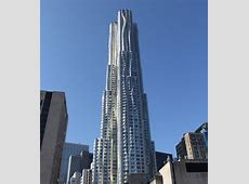 New York by Gehry at 8 Spruce St in FultonSeaport