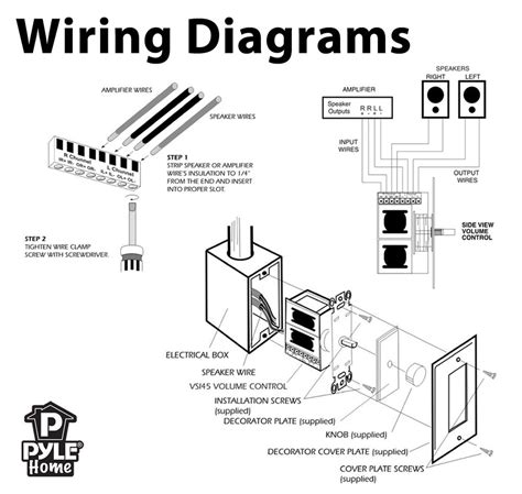 speaker cable wiring diagram auto electrical wiring diagram