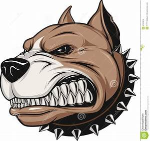 Angry dog stock vector. Illustration of british ...
