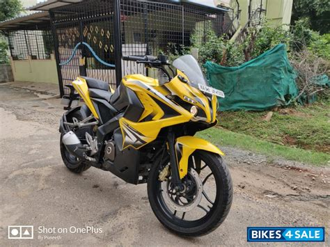 Check mileage, color, specifications & features. Used 2015 model Bajaj Pulsar RS 200 for sale in Bangalore ...