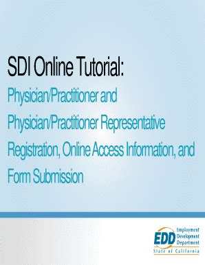 sdi supplemental certification form form sdi physician fill online printable fillable