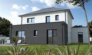 maison cubique contemporaine guerande depreux construction With plan de maison cubique 11 maisons sur mesure 44 56 85 depreux construction