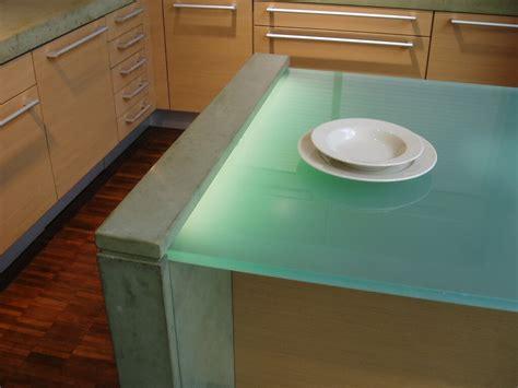 glowing countertop glowing glass countertops brooks custom