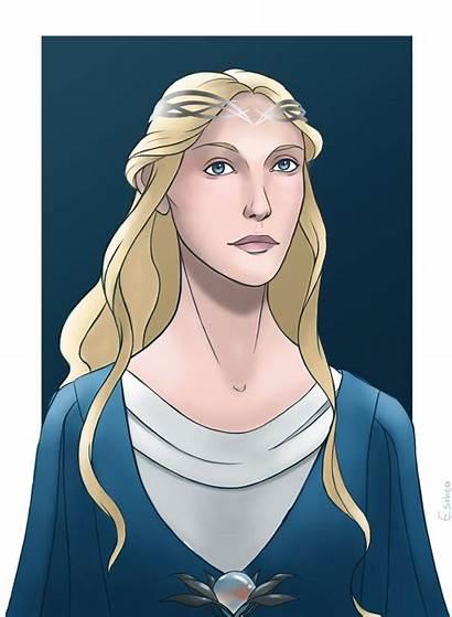 Galadriel Fan Deviantart Hobbit Tolkien Lord Rings