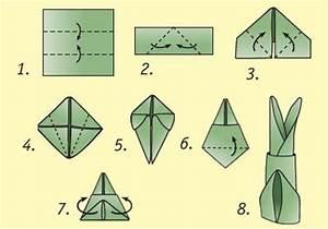 Osterhasen Falten Servietten : ohren origami and kaninchen on pinterest ~ Markanthonyermac.com Haus und Dekorationen