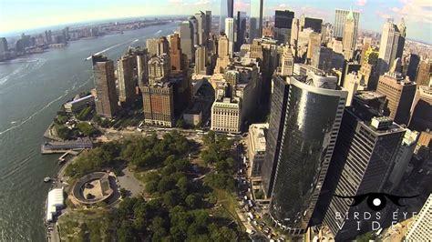york city aerial footage  youtube