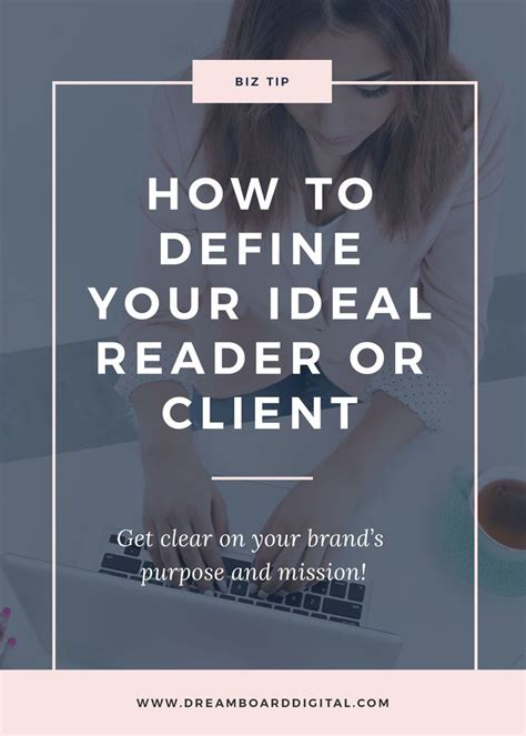 how to define your ideal reader or client all you need to