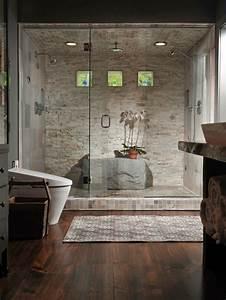 Grande Cabine De Douche : douche italienne la nature s 39 invite dans votre salle de bain ~ Dailycaller-alerts.com Idées de Décoration