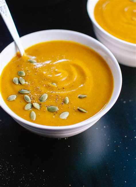 pumpkin soup roasted pumpkin soup cookie and kate
