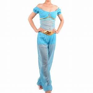 princess jasmine costume women adult Arabian Aladdin's Jasmine cosplay halloween costumes for ...