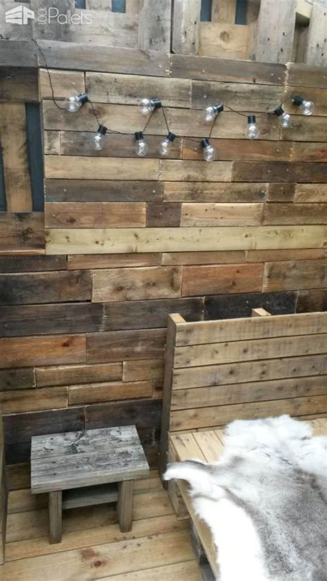 pallet summer house  pallets