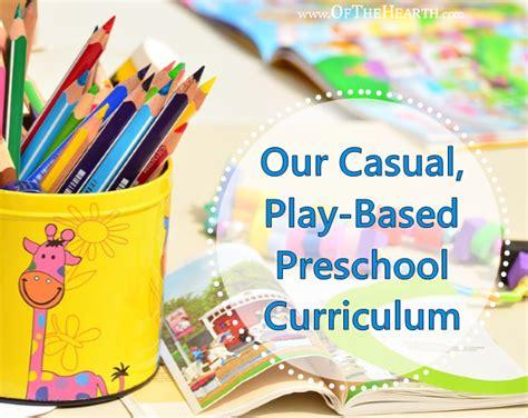 home preschool curriculum kits our casual play based preschool curriculum 81002