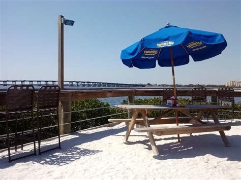 Tiki Bar Bradenton by Waterfront Seating Picture Of Tarpon Point Grill And