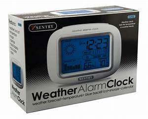 CL933 Sentry Big Screen Weather Alarm Clock