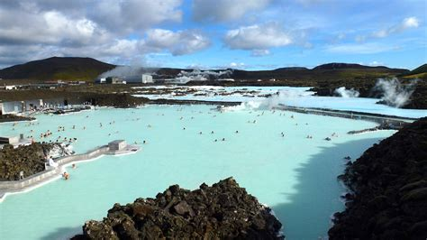 Aerial view of Blue Lagoon   Girl Tweets World