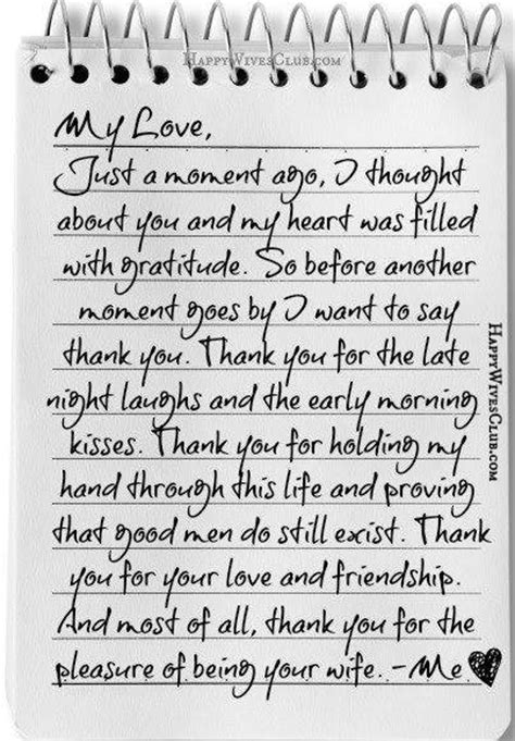 letter to my husband my letter happy club 23227