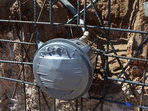 pool light niche grounding building a swimming pool electrical