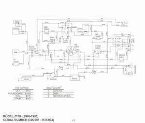 Cub Cadet Model 2130 Wiring Diagram