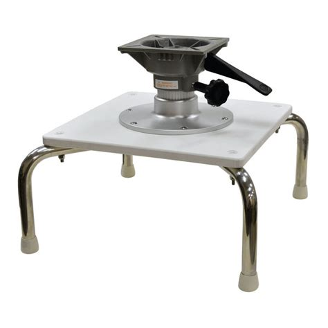 Boat Seat Pedestal Hardware by Wise Marine Seating Seat Stand With 6 Quot Pedestal West Marine