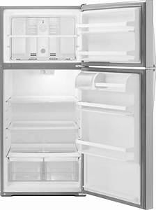 Whirlpool Wrt134tfdm 28 Inch 14 3 Cu  Ft  Top Freezer