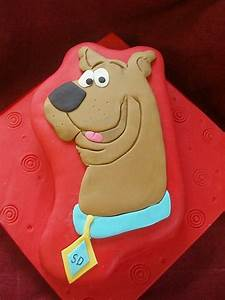 62 best scooby doo cakes images on pinterest birthdays With scooby doo cake template
