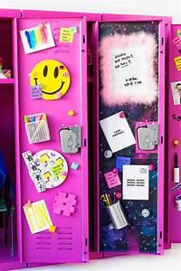 DIY Locker Decor + Ideas! - Studio DIY