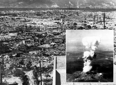 Hiroshima Atomic Bomb On Japan