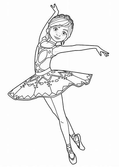 Leap Coloring Pages Ballerina Site