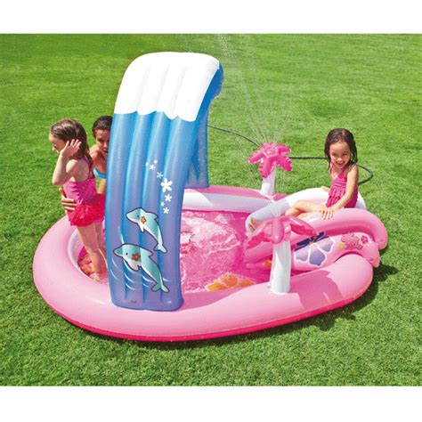 piscine gonflable avec siege piscine piscine enfant avec aire de jeux gonflable hello