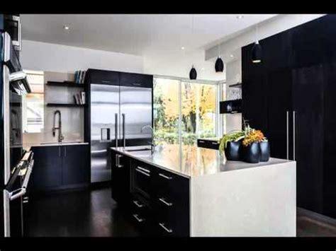 desain dapur nuansa hitam putih desain interior dapur