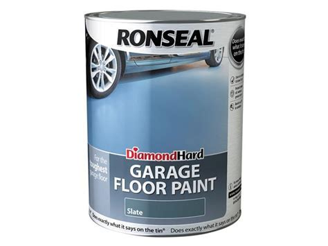 Ronseal Diamond Hard Garage Floor Paint Slate 2.5 Litre   eBay