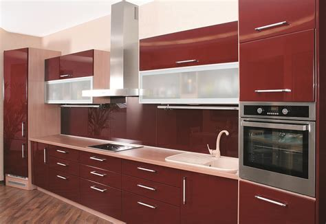Glass Kitchen Cabinet Doors Gallery « Aluminum Glass