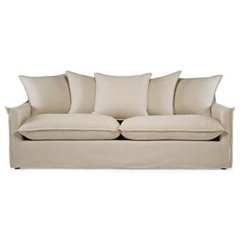 jcpenney slipcover sectional sofa savannah slipcovered 85 quot sofa jcpenney for the home