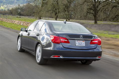2017 acura rlx offers more features but base gets 3 480 price hike