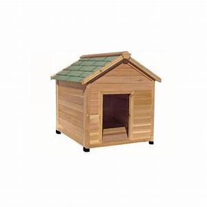 Dog housessimply cedar x large outdoor dog house for Large insulated dog house