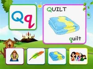 Alphabet reading for kids - Q - YouTube