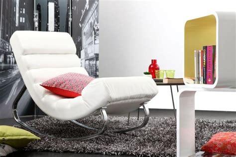 fauteuil  bascule design  idees de rocking chair moderne