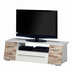 Tv Bank Weiß Holz : tv bank talisa wei retro home24 ~ Whattoseeinmadrid.com Haus und Dekorationen