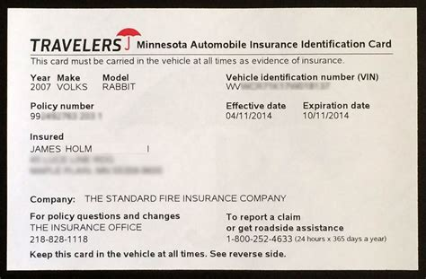 proof  auto insurance template  car insurance
