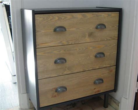 meuble de cuisine ikea commode rast industrielle personnalisée