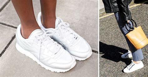sneaker trend herbst 2017 the summer sneaker trends fashion are already wearing who what wear