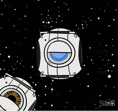 Portal Space Core Animated Animation Games Funny