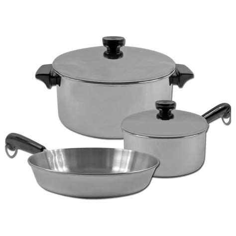 revere stainless steel aluminum disc cookware set  cookware  sportsmans guide