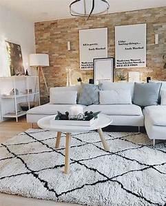 Teppich Unter Sofa : 721 besten wohnzimmer skandinavisch bilder auf pinterest wohnideen wohnzimmer ideen und ~ Frokenaadalensverden.com Haus und Dekorationen